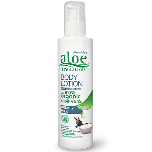 aloe body lotion donkey