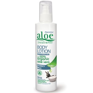 aloe body lotion donkey