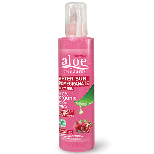 After Sun Body Gel Pomegranate Aloe Treasures
