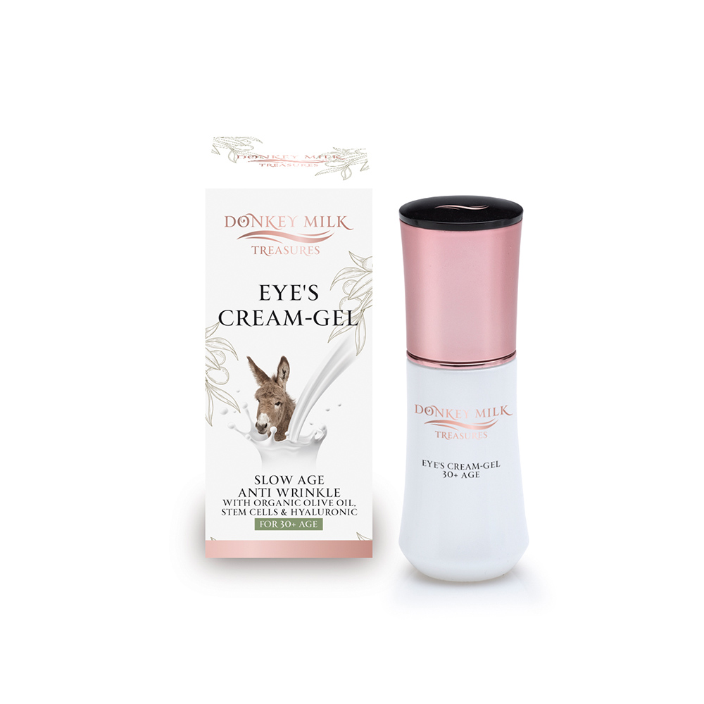 Pharmaid Donkey Milk Treasures Natuurlijke Slow Age en Anti Rimpel oogcrèmegel