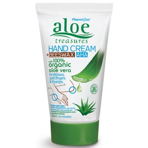 Aloe Treasures Handcream Beeswax 120ml