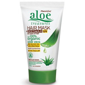 Aloe Treasures Hair Mask Beeswax Leave In
