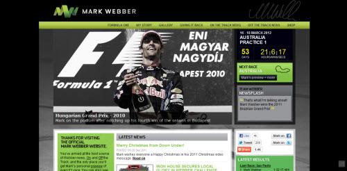 Mark Weber F1 Driver