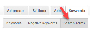 Learn how to use Google AdWords Search Terms.