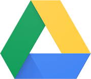 Google Drive for storing files in the cloud.