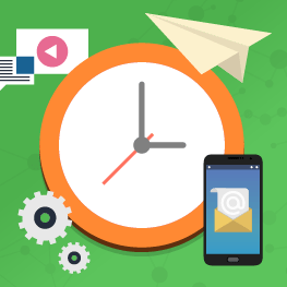 Learn when the best time is to get good open and click rates in email marketing.