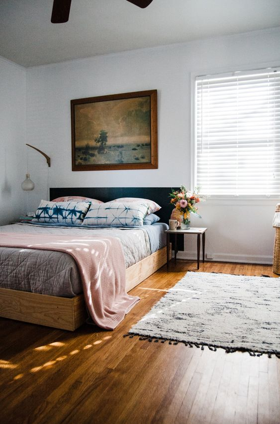 successful home organisation begins with making your bed