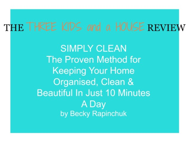 Simple Clean book Review