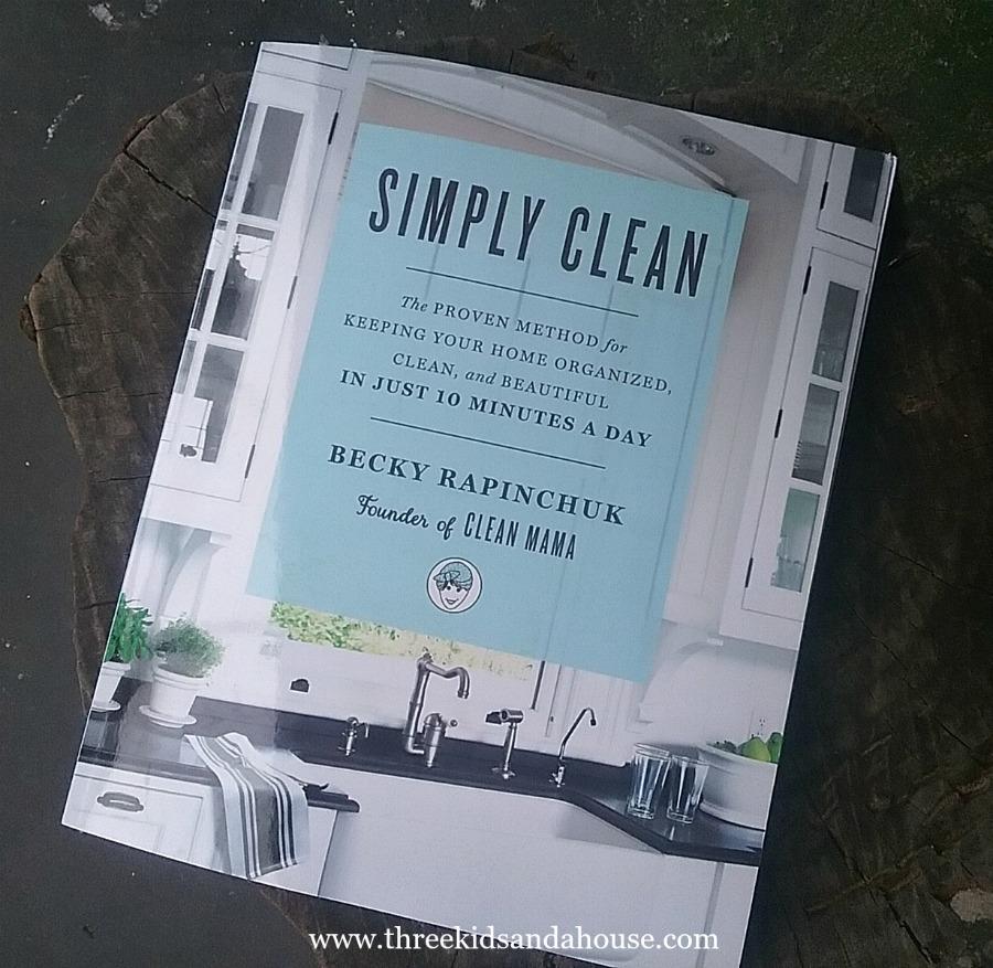Simply Clean book