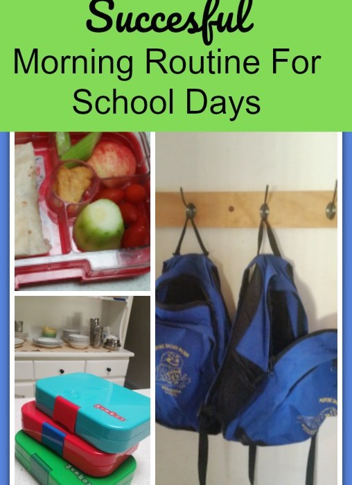 3 Easy Steps To Create A Successful Morning Routine For School