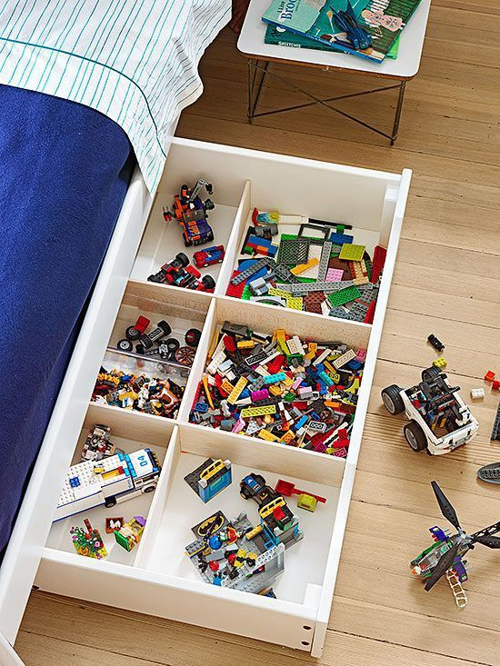 The Best Way To Store Lego