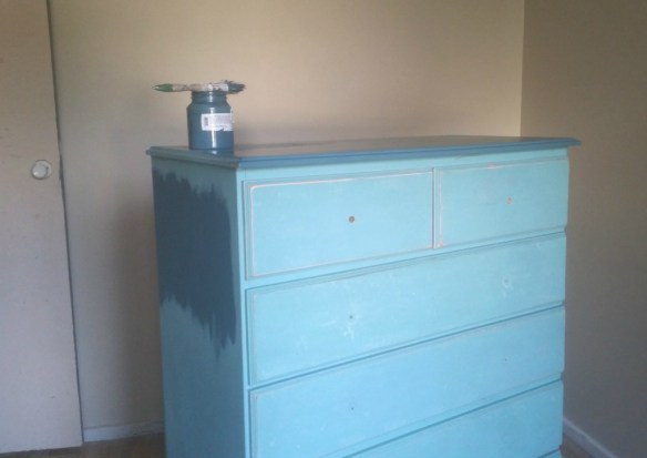 repaint a chest of drawers