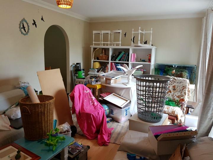 australia one room challenge before photo