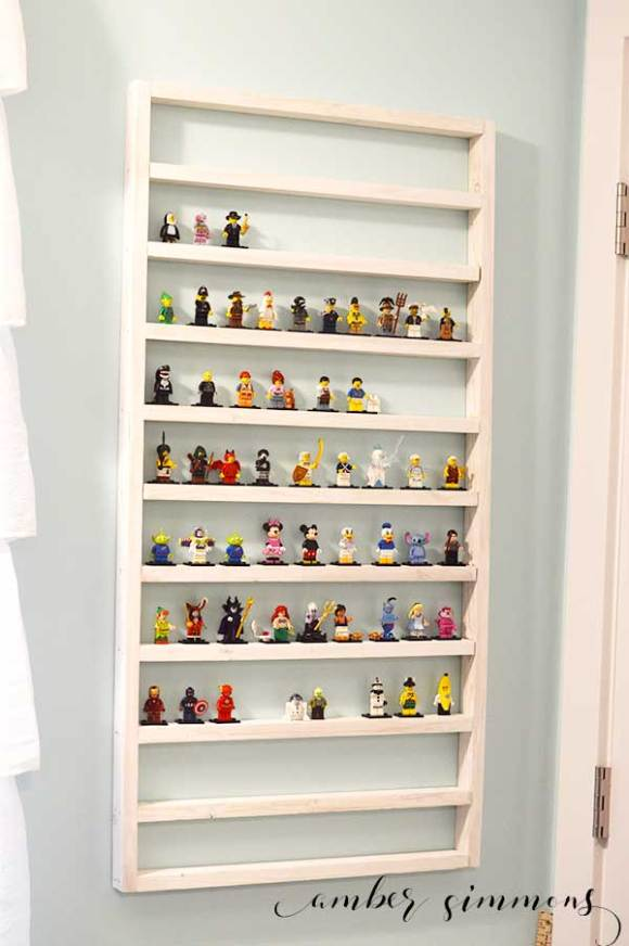 lego minifigure display ideas