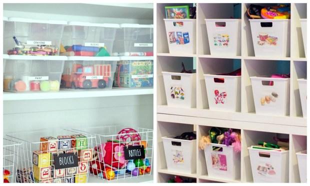 organise kids toys