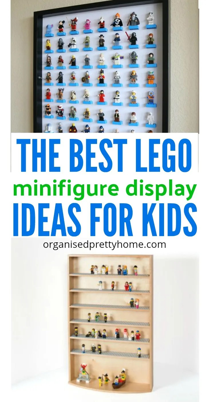 lego minifigure display ideas for kids