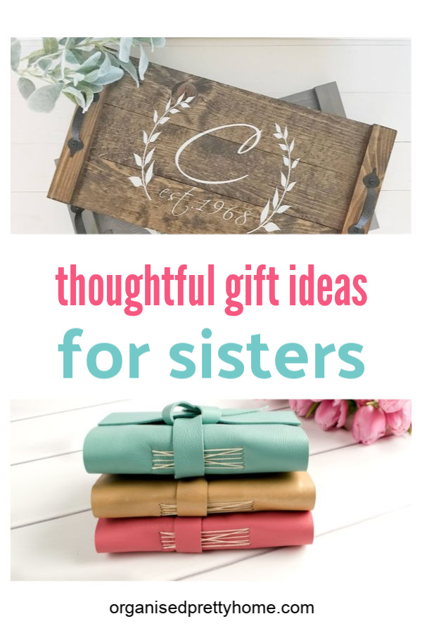 thoughtful gift ideas for your sister or sister-in-law