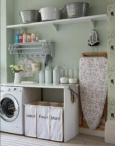 Hogar: cómo organizar el lavadero