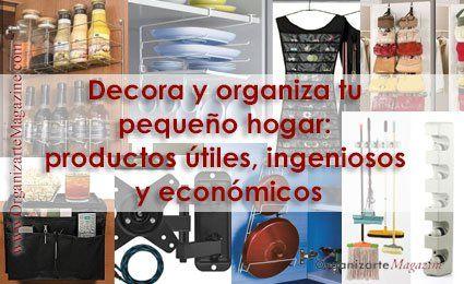 Decora y organiza to hogar: ideas y productos low-cost