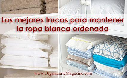 Cómo ordenar sábanas