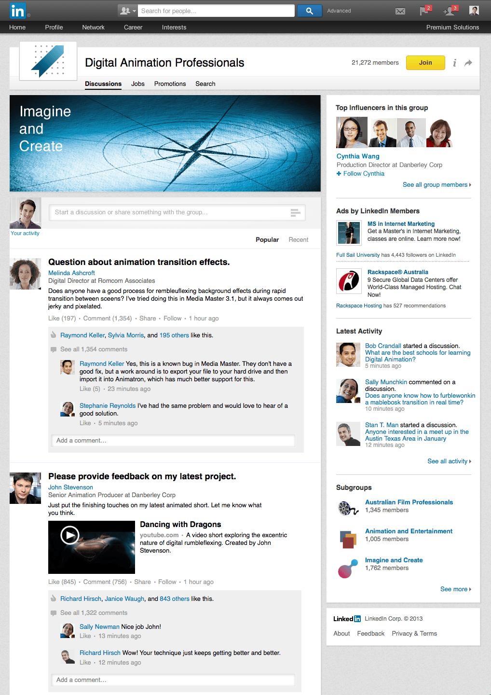 Conseguir trabajos en Linkedin