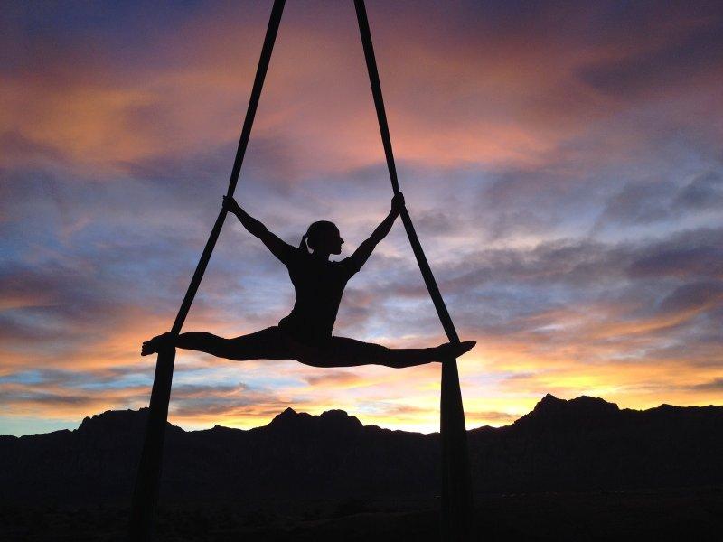 5 Actividades sanas - Danza Aerea