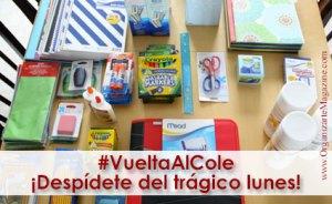 Vuelta al cole: organizacion utiles escolares y etiquetas para ropa