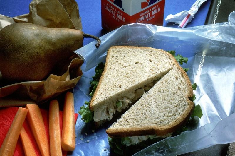 Viandas para preparar almuerzos preparación