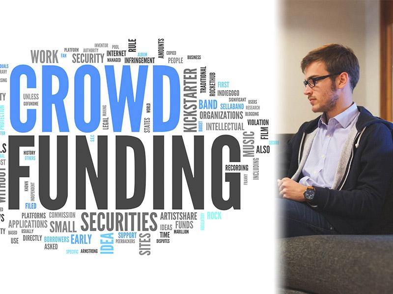 emprendedor que necesita gastos dinero crowd funding