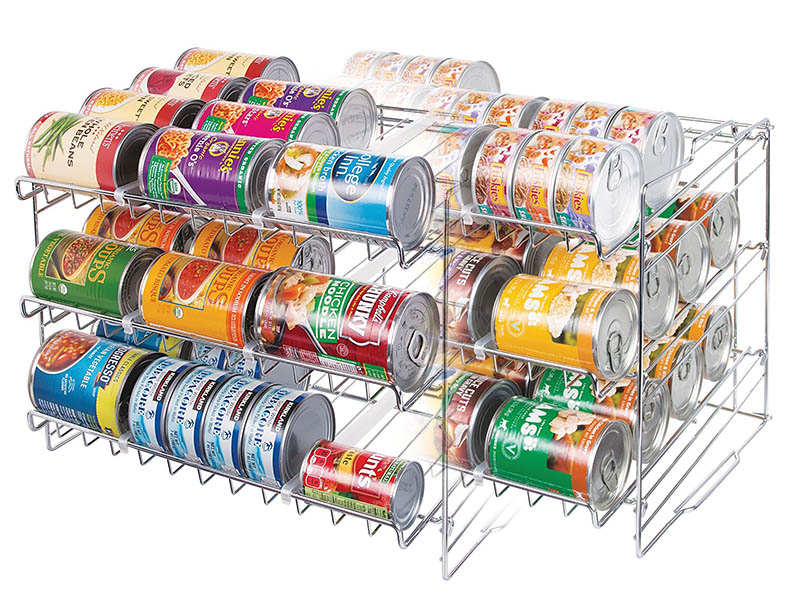 Estante de cocina para latas comida