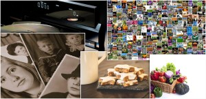 ideas para regalos organizarte organización envíos a domicilio cesta de comida dulces galletas