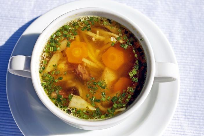 Todo en una sopa aprovechar maximo alimentos