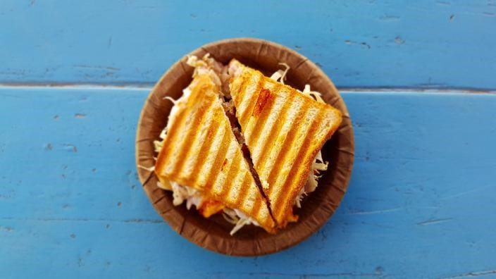 sándwich aprovechar maximo alimentos