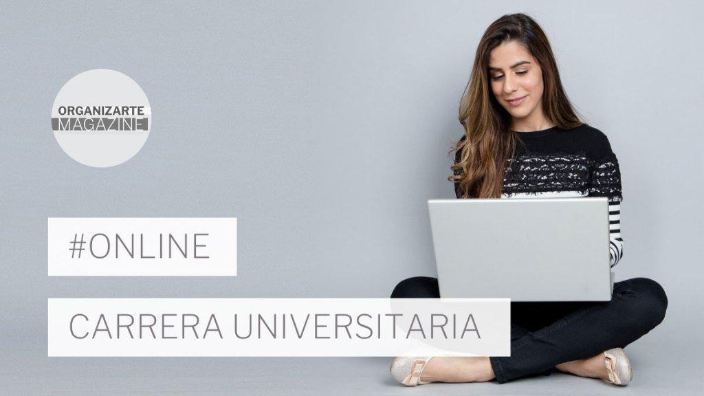 dónde estudiar una carrera universitaria online