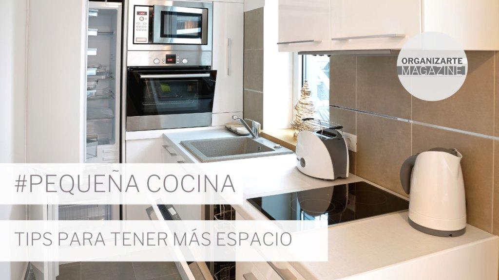 Aprovechar el espacio en tu pequeña cocina