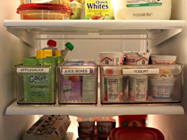 Image result for organise fridge labelling