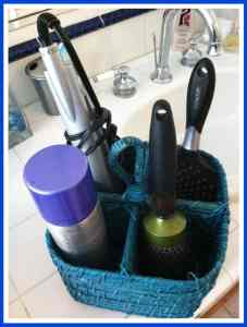 Hair Styling Basket