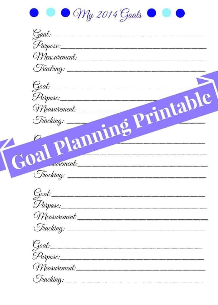 Goal Setting For
