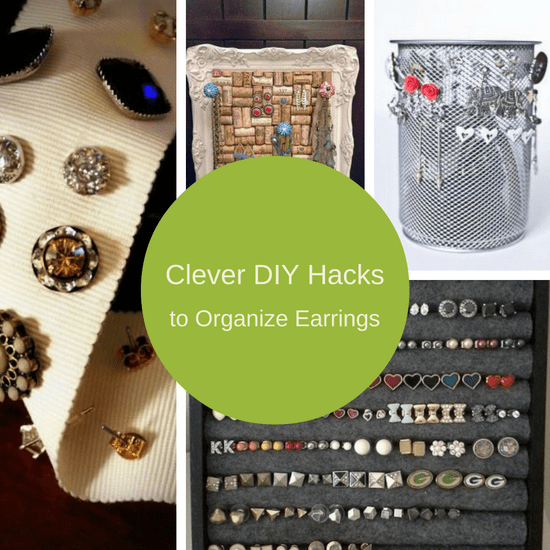 7 Clever DIY Earring Holder Ideas To Organize Your