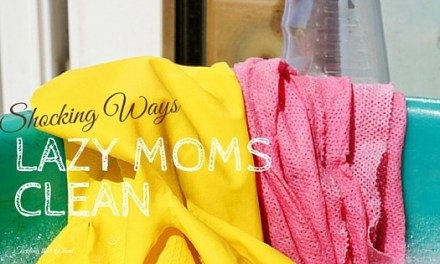 The 5 Shocking Ways Lazy Moms Clean