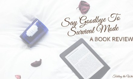 Tired of Being Tired? Say Goodbye to Survival Mode
