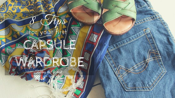 8 Tips For Your First Capsule Wardrobe