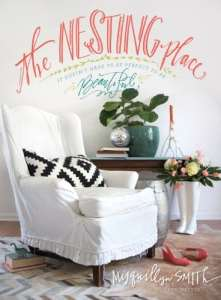 The Nesting Place is a great book to read about decorating your home on a budget.