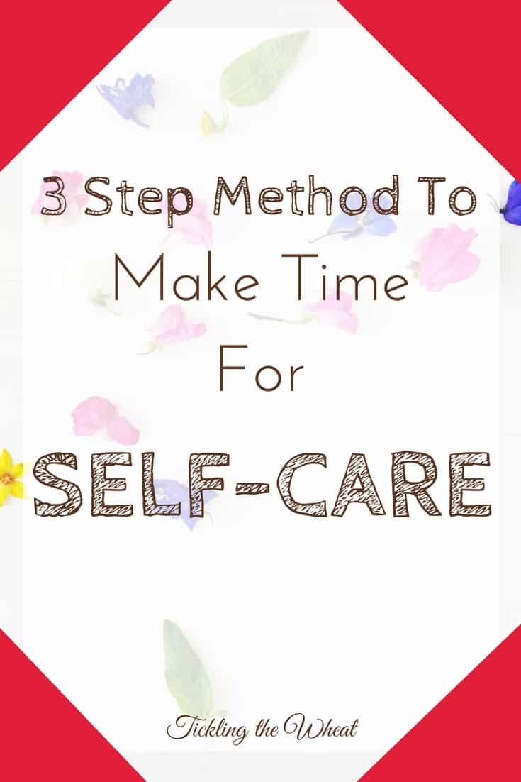 Make time for self-care without neglecting your family. This 3-step process helped me quickly focus on the things that would make me healthier (and happier).
