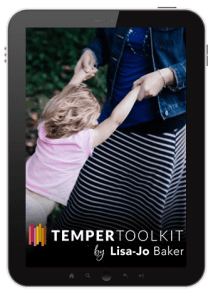 The Temper Toolkit is the perfect tool to help moms manage their tempers.