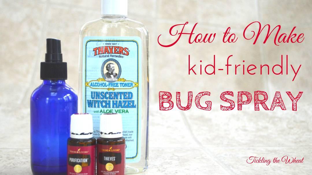 How to Make Natural Bug Spray
