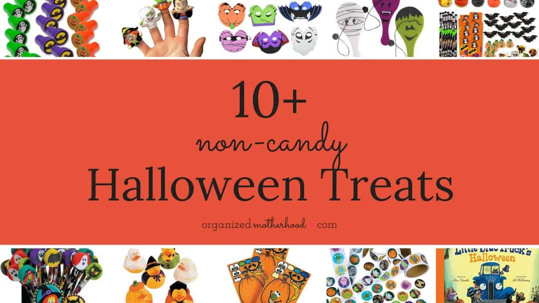 10+ Non-Candy Halloween Treats for Kids