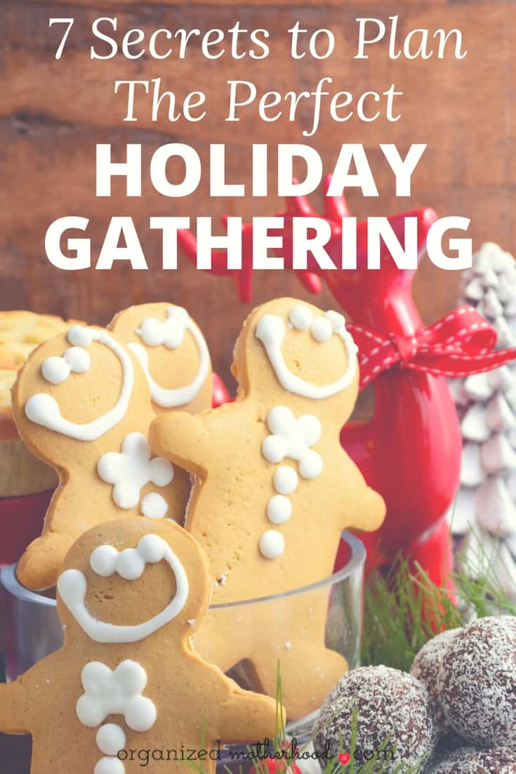 These 7 tips made hosting my first Christmas party so much easier. I love the free printable holiday planner, too! It makes keeping track of the menu and guests simple!