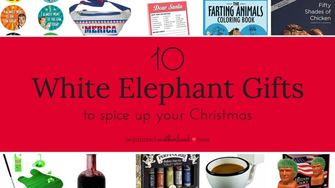 10 Hilarious White Elephant Gifts You'll Love to Give