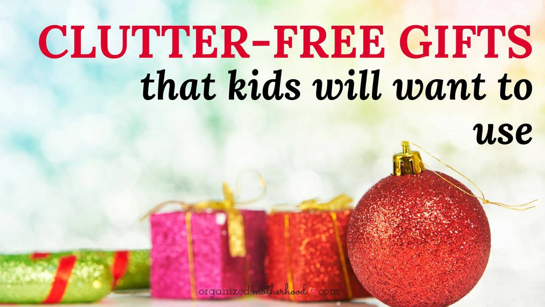 Give a Creative (Clutter-Free) Gift That Kids Will Want to Use